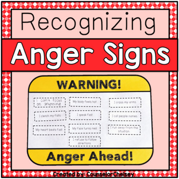 Recognizing Anger - Anger Warning Signs Activity
