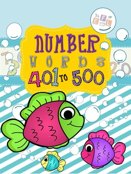 Recognizing Number Words 401-500