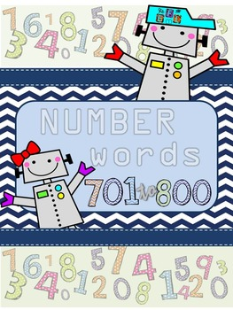 Recognizing Number Words 701-800