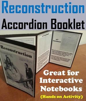 Reconstruction Era Activity: 15th - 13th Amendment (Civil