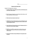 Reconstruction Begins Study Guide- Blank
