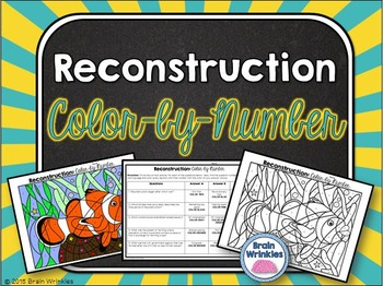 Reconstruction: Color-by-Number Activity