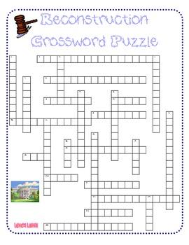 Reconstruction Crossword Puzzle