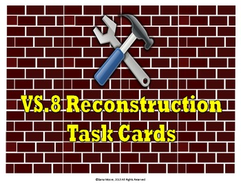 Reconstruction SCOOT / Task Cards (VS.8)