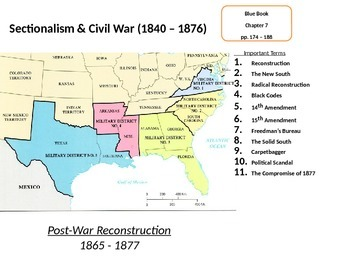 Reconstruction in the South: The Effects of the American C
