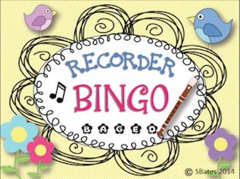 Recorder BINGO *B-A-G-E-D