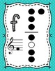 Recorder Fingering Charts ~ Polka Dot Backgrounds