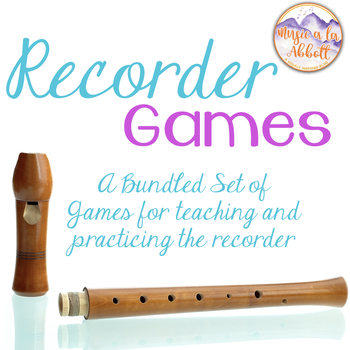 Recorder Game Club {A Bundled Set of Games for Practicing