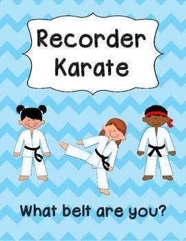 Recorder Karate Posters