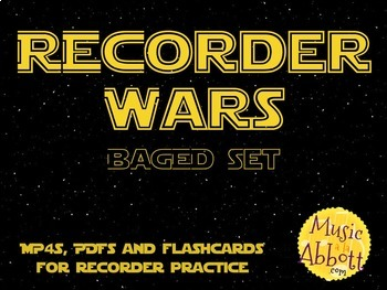 Recorder Wars {BAGED Set}