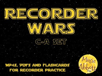 Recorder Wars {C-A Set}