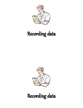 Recording Data Reader for Kindergarten/ 1st grade