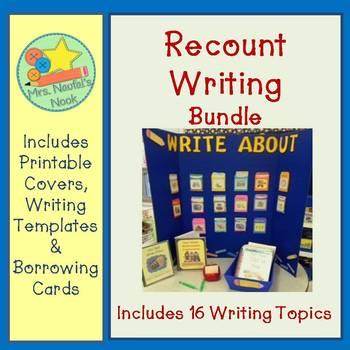 Recount Writing Bundle