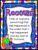 Recount Writing Pack {4 anchor charts, 5 differentiated te