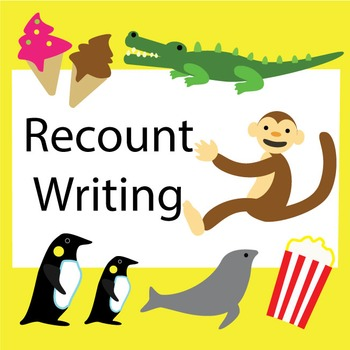 Recount Writing Posters
