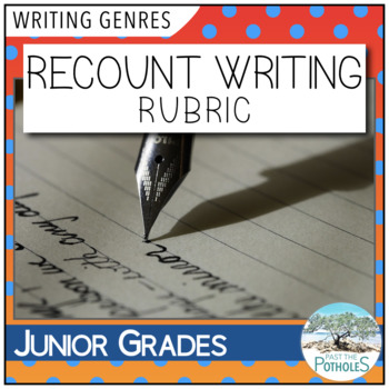 Recount Writing Rubric / Success Criteria / Assessment