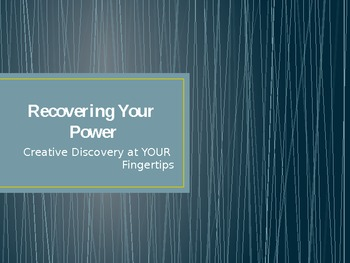 Recovering Your Creative Power