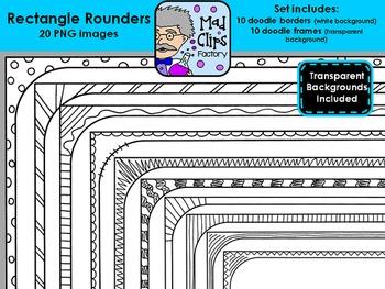 Rectangle Rounders {Frames}
