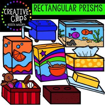 Rectangular Prisms {Creative Clips Digital Clipart}