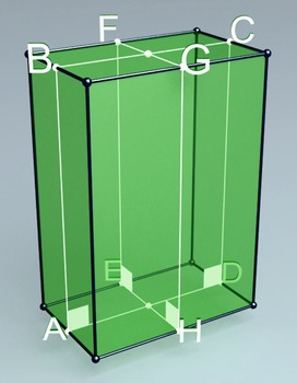 Rectangular parallelepiped (3d video model)