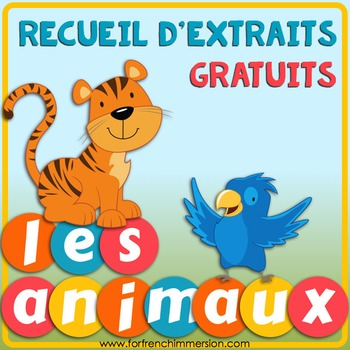 Recueil d'extraits gratuits | French Sampler ANIMALS: tips