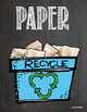 Recycle Posters Chalkboard Themed