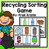 Recycling (Earth Day) Sorting Game