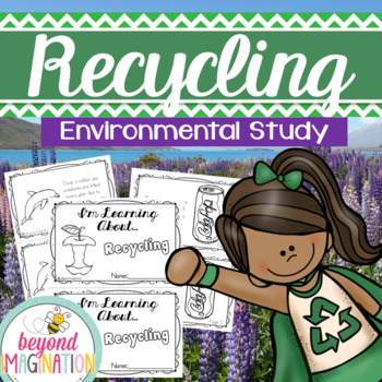 Recycling Enviornmental Study Fact Booklet for Little Learners