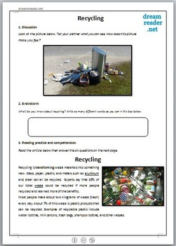 Recycling Lesson