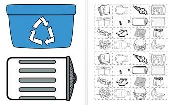 Recyling vs Trash Sort