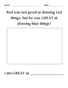 Red: A Crayon's Story Activity