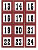 Western - Red Bandana Calendar Set