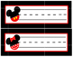 Red, Black, Yellow & White Disney - Mouse Inspired Classro