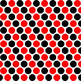 Red, Black, and White Digital Paper Collection 600dpi Comm