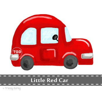Red Car clip art, clip art for boys, red car Printable Tra