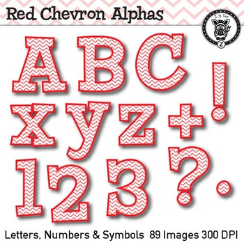 Red Chevron Alpha Clip Art - 89 images