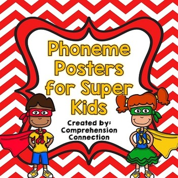 Phoneme Posters: Red Chevron