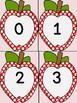 Red Dot Apple Number Flashcards 0-100