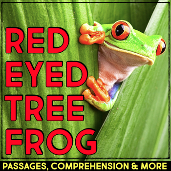 Red Eyed Tree Frog: Informational Article, QR Code Researc