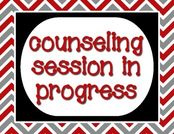Red, Gray and Black - Counseling Session In Progress - 8.5