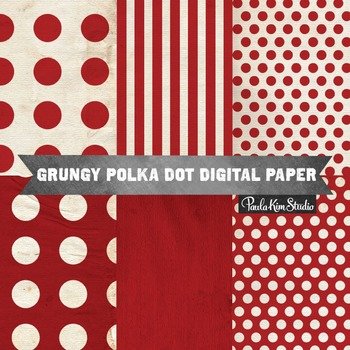 Digital Paper - Red