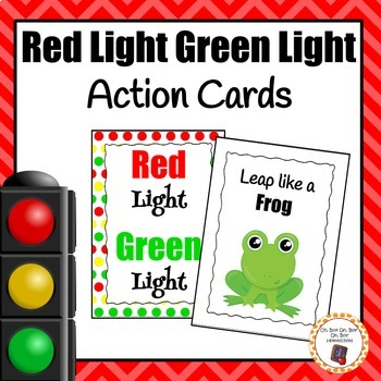 Red Light Green Light Action Cards