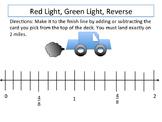 Red Light, Green Light, Reverse: Fraction Activity