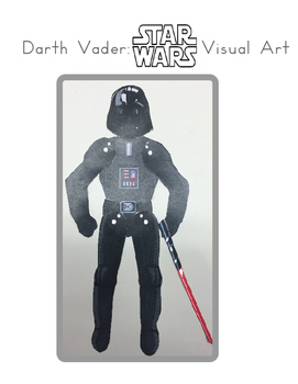 Red Pants Writing: Darth Vader Visual Art Sequence & Worksheets