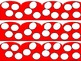 Red Polka Dot Border