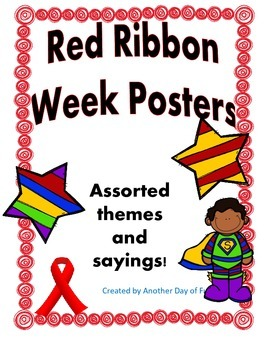 Red Ribbon Celebration Posters