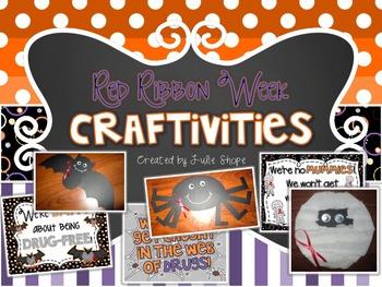 Red Ribbon Week Craftivities & Printables