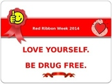 Red Ribbon Week Door Decoration 2014