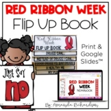Red Ribbon Week Flip Up Book