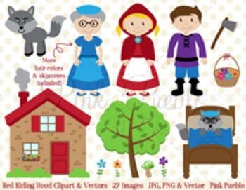 Red Riding Hood Clipart Clip Art, Little Red Riding Hood F